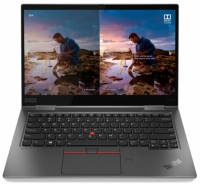 Ноутбук Lenovo ThinkPad X1 Yoga 5 i5-10210U 16Gb SSD 512Gb Intel UHD Graphics 14 UHD IPS TouchScreen BT Cam LTE 51Вт*ч Win10Pro Серый 20UB003XRT