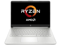Ноутбук HP 14s Ryzen 3 5300U 8Gb SSD 256Gb AMD Radeon Graphics 14 FHD IPS Cam 41Вт*ч Free DOS Серебристый 14s-fq1018ur 3B2V2EA