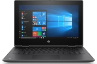 Ноутбук HP ProBook x360 11 G5 CQC N4120 4Gb SSD 128Gb Intel UHD Graphics 600 11,6 HD SVA Touchscreen BT Cam 48Вт*ч Win10Pro Темно-серый 1B7M8ES